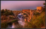 """Monroe Street Bridge"" ""Spokane Photographer"" ""Bridge Photo"""