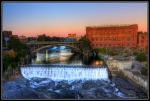 """Spokane Falls"" ""Spokane Landscape Photography"" ""Washington Water Power"""